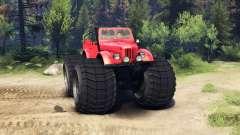 ГАЗ-69М Red Monster