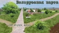 Белорусская карта СПК Борки Агро