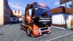 Окрас -Dream Express- на тягач MAN TGX