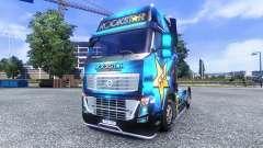 Окрас -Rockstar Energy Drink- на тягач Volvo