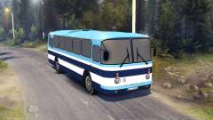 ЛАЗ-699Р blue stripes