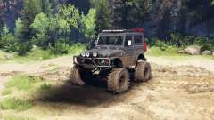 Suzuki Samurai LJ880 dirty black
