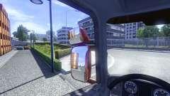 Зеркала для Scania