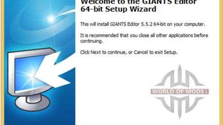 GIANTS Editor v5.5.2 64bit для Farming Simulator 2013