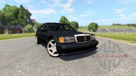 Mercedes-Benz 190E Evolution II 2.5 1990 для BeamNG Drive