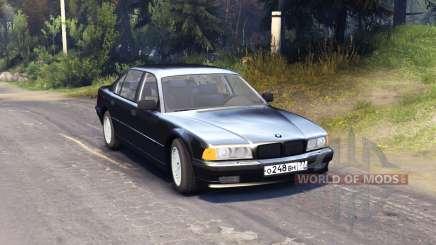 BMW 750Li E38 для Spin Tires