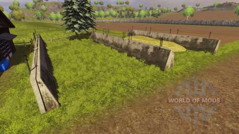 Силосная яма покупаемая для Farming Simulator 2013