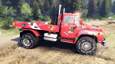 ЗиЛ-130 4x4 автокросс для Spin Tires