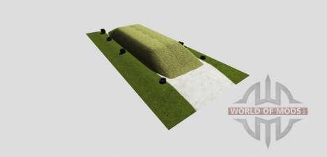 Силосная яма (размещаемая) для Farming Simulator 2013