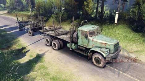 КрАЗ-257 PJ2 для Spin Tires