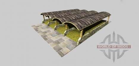 Силосная яма с навесом v3.2 для Farming Simulator 2013