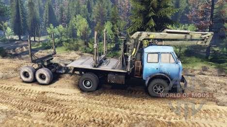 МАЗ-509 v2.0 для Spin Tires