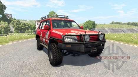 Toyota Land Cruiser 100 v2.0 для BeamNG Drive
