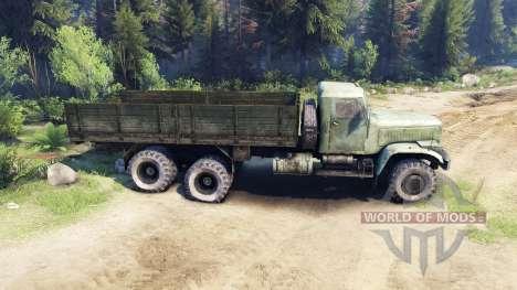 КрАЗ-257 PJ1 для Spin Tires