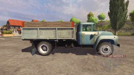 ЗиЛ 130 blue для Farming Simulator 2013