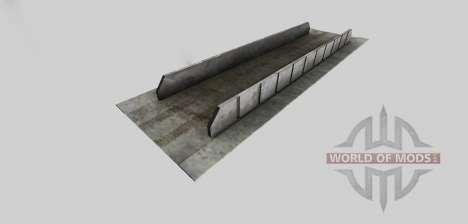 Силосная яма (укреплённая) для Farming Simulator 2013