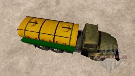 Урал-4320 молоковоз для Farming Simulator 2013