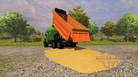 Урал-4320 савок для Farming Simulator 2013