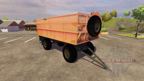 Сельскохозяйственный прицеп для Farming Simulator 2013