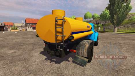 ЗиЛ 130 вода для Farming Simulator 2013