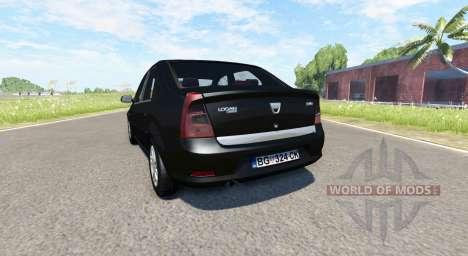 Dacia Logan 2008 v2.0 для BeamNG Drive
