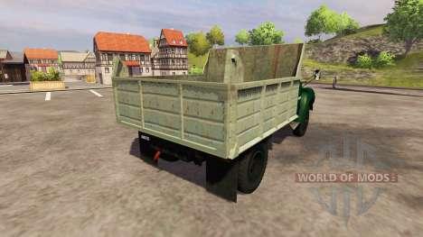 ЗиЛ 130 ММЗ 4502 для Farming Simulator 2013