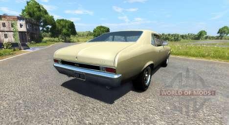 Chevrolet Nova 1968 для BeamNG Drive