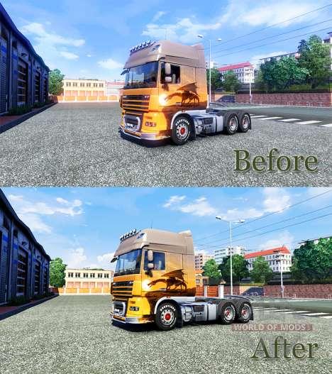 HDR улучшение для Euro Truck Simulator 2