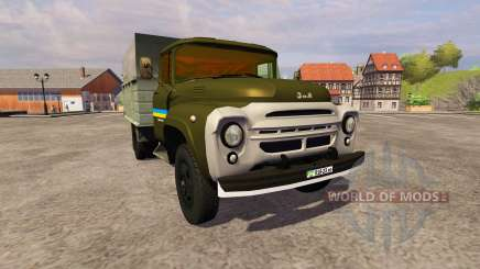 ЗиЛ 130 ММЗ 4502 khaki для Farming Simulator 2013