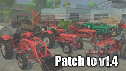 Патч до версии 1.4 для Farming Simulator 2013