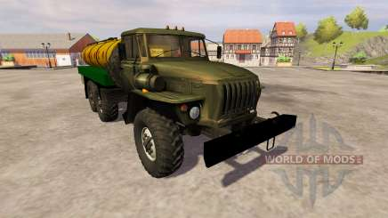 Урал-4320 молоковоз для Farming Simulator 2013