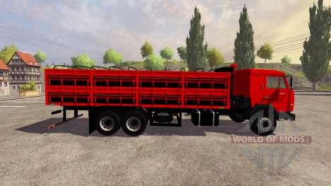 КамАЗ-54115 бортовой для Farming Simulator 2013
