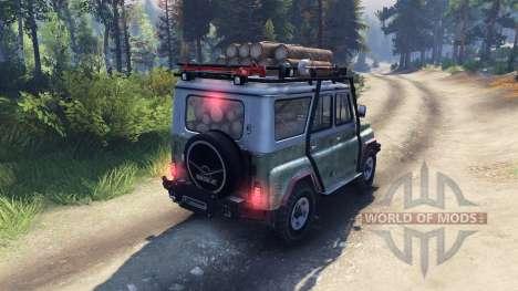 УАЗ-469 Б для Spin Tires