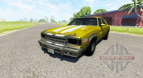 American Sedan skin2 для BeamNG Drive