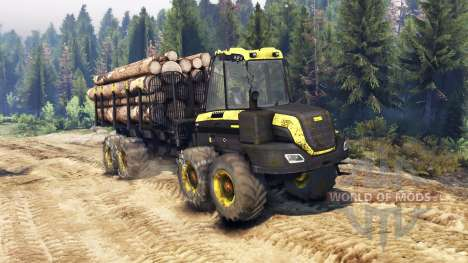 PONSSE Buffalo 8x8 AT для Spin Tires