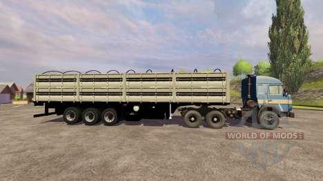 КамАЗ-54115 для Farming Simulator 2013