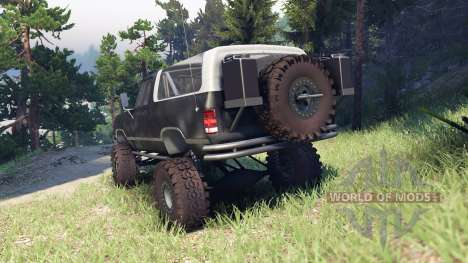 Dodge Ramcharger II 1991 default для Spin Tires