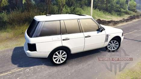 Range Rover Sport для Spin Tires