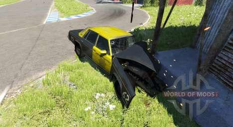 American Sedan skin4 для BeamNG Drive