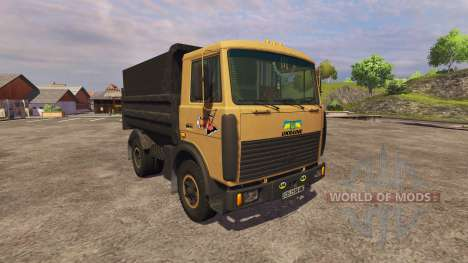 МАЗ-5551 самосвал для Farming Simulator 2013