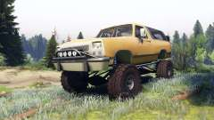 Dodge Ramcharger II 1991 dirty brown