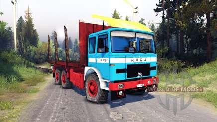 Raba-MAN 832 v2.0 для Spin Tires
