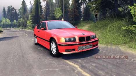 BMW M3 E36 для Spin Tires