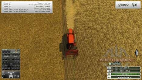 GPS для Farming Simulator 2013