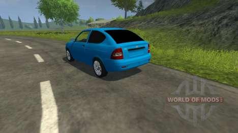 Lada Priora Coupe для Farming Simulator 2013