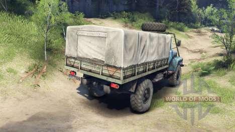 ГАЗ-33081 для Spin Tires
