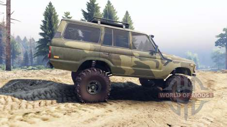 Toyota Land Cruiser 60 для Spin Tires