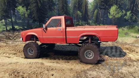 Toyota Hilux Truggy 1981 v1.1 red для Spin Tires
