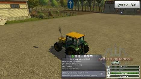 Courseplay 3.4 для Farming Simulator 2013
