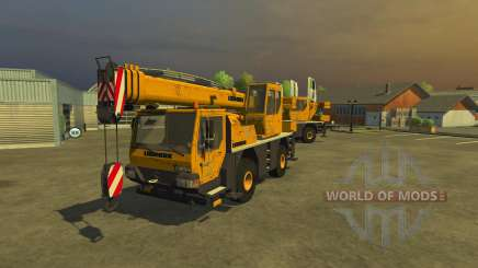 Liebherr LTM 1030 для Farming Simulator 2013